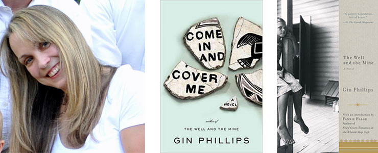 Gin Phillips and books